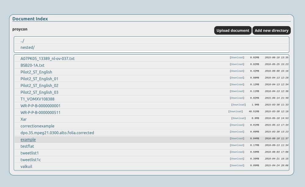 FLAT screenshot
