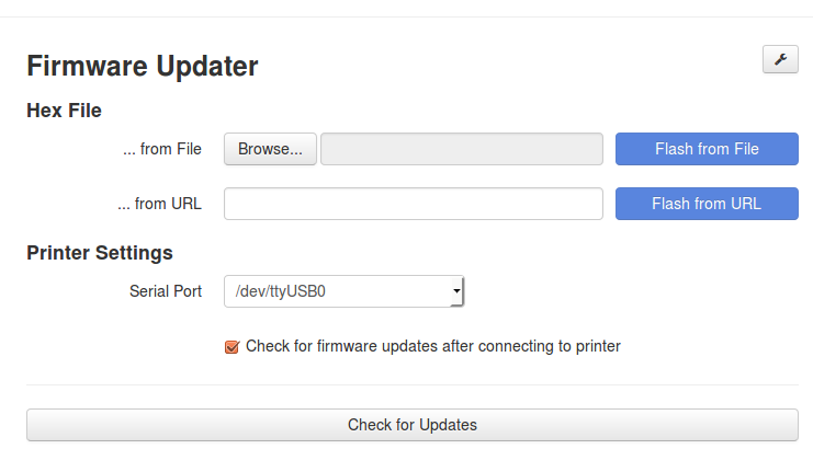 Firmware Updater Plugin