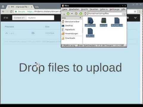 File Manager Demo