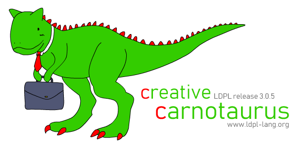 3.0.5 - Creative Carnotaurus