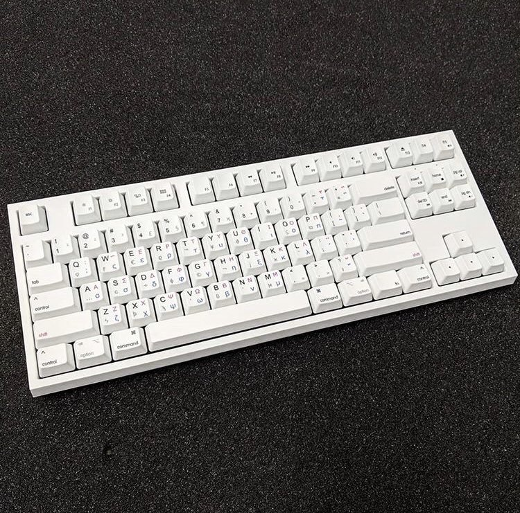 An image of the finished keyboard