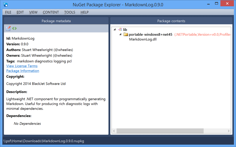 Automating NuGet Package Creation using AppVeyor