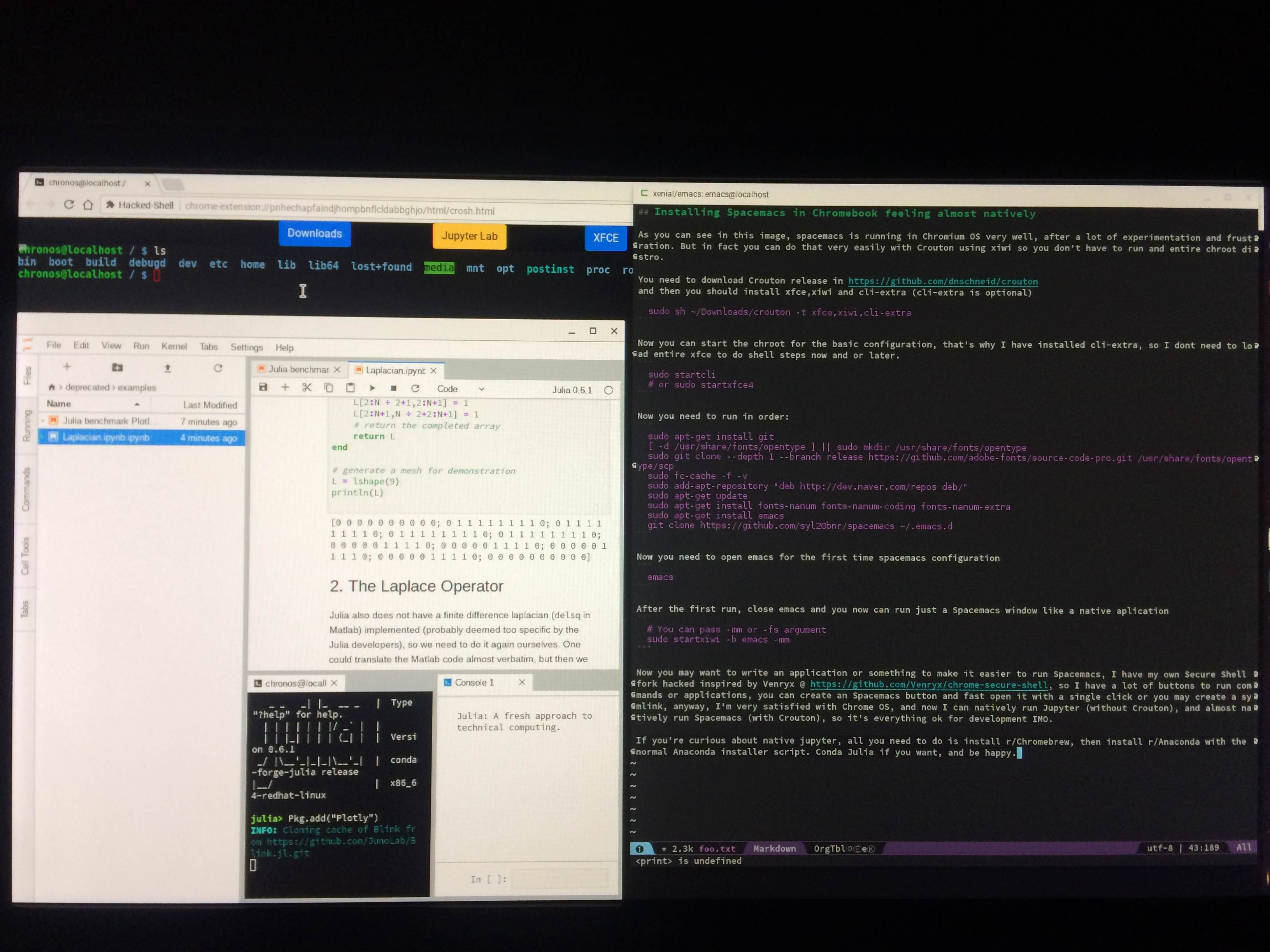 GitHub - jacksonbenete/workspace: Chrome OS workspace for