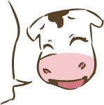 Cow Chibi Freebie lulz by ErikaRobbins