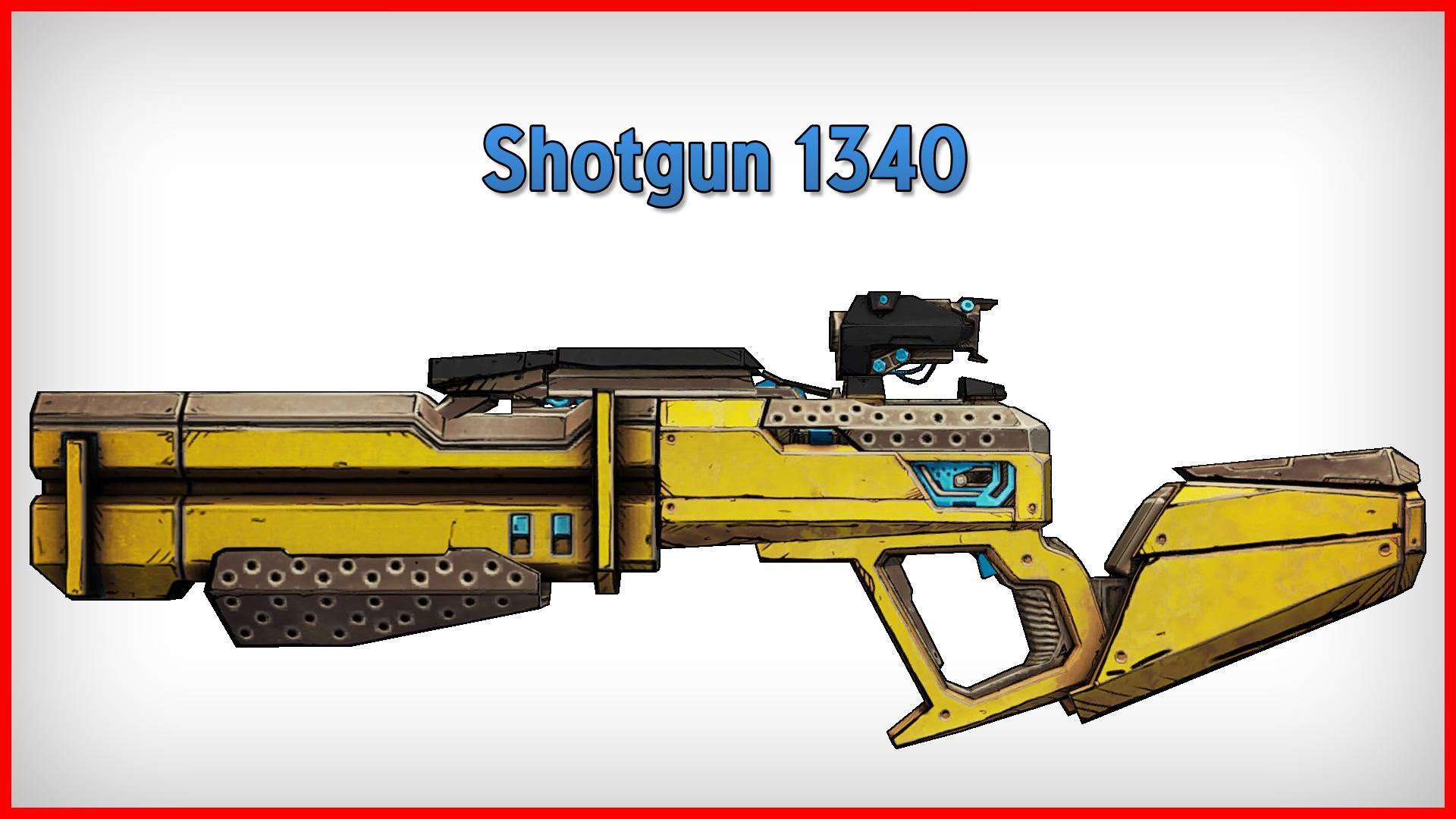 Borderlands 2 shotgun 1340   Bug with the 1340 shotgun