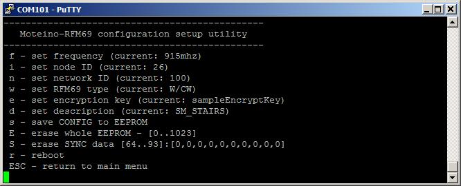 Config utility