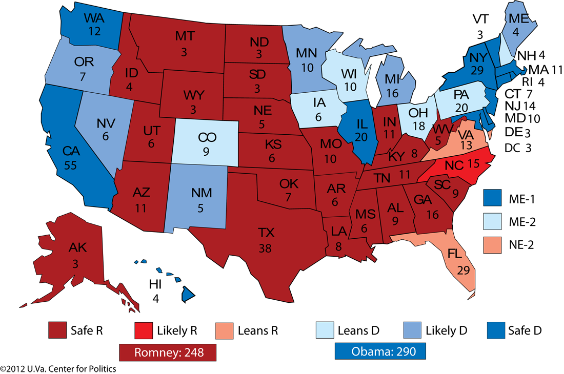 Bring Back The Vote Maps Issue Govtrackgovtrackusweb - 2012 red blue us map