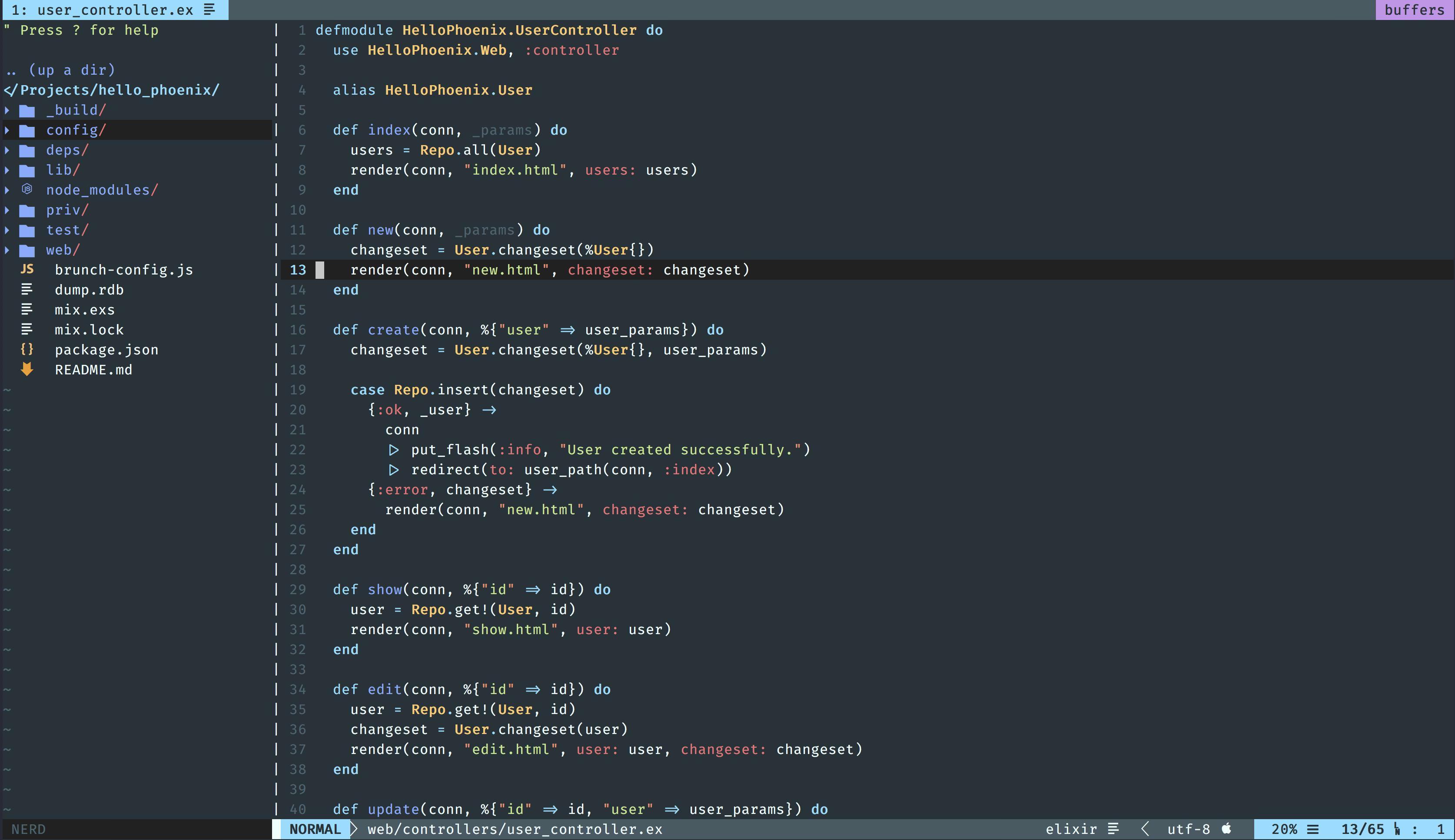 GitHub - hzchirs/vim-material: 🧩 equinusocio's Material