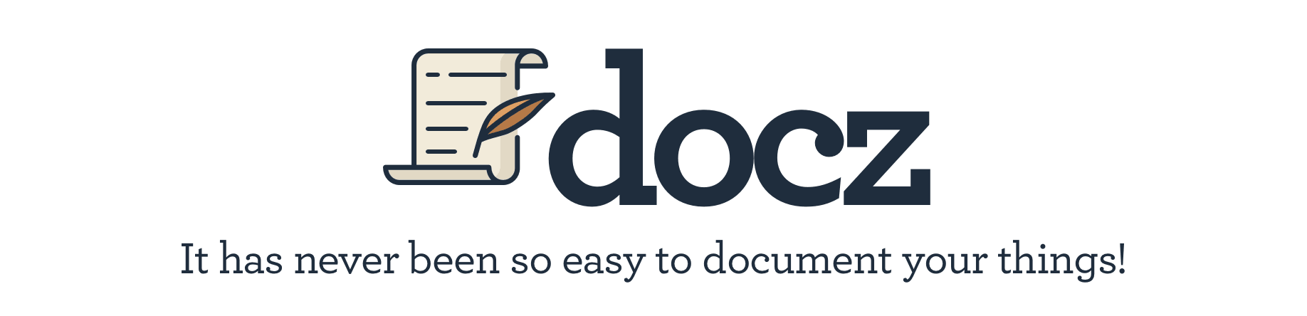 ✍ It has never been so easy to document your things!