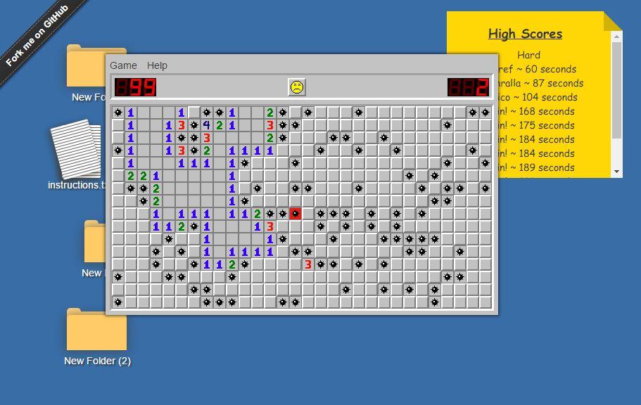 Minesweeper.Zone Screenshot