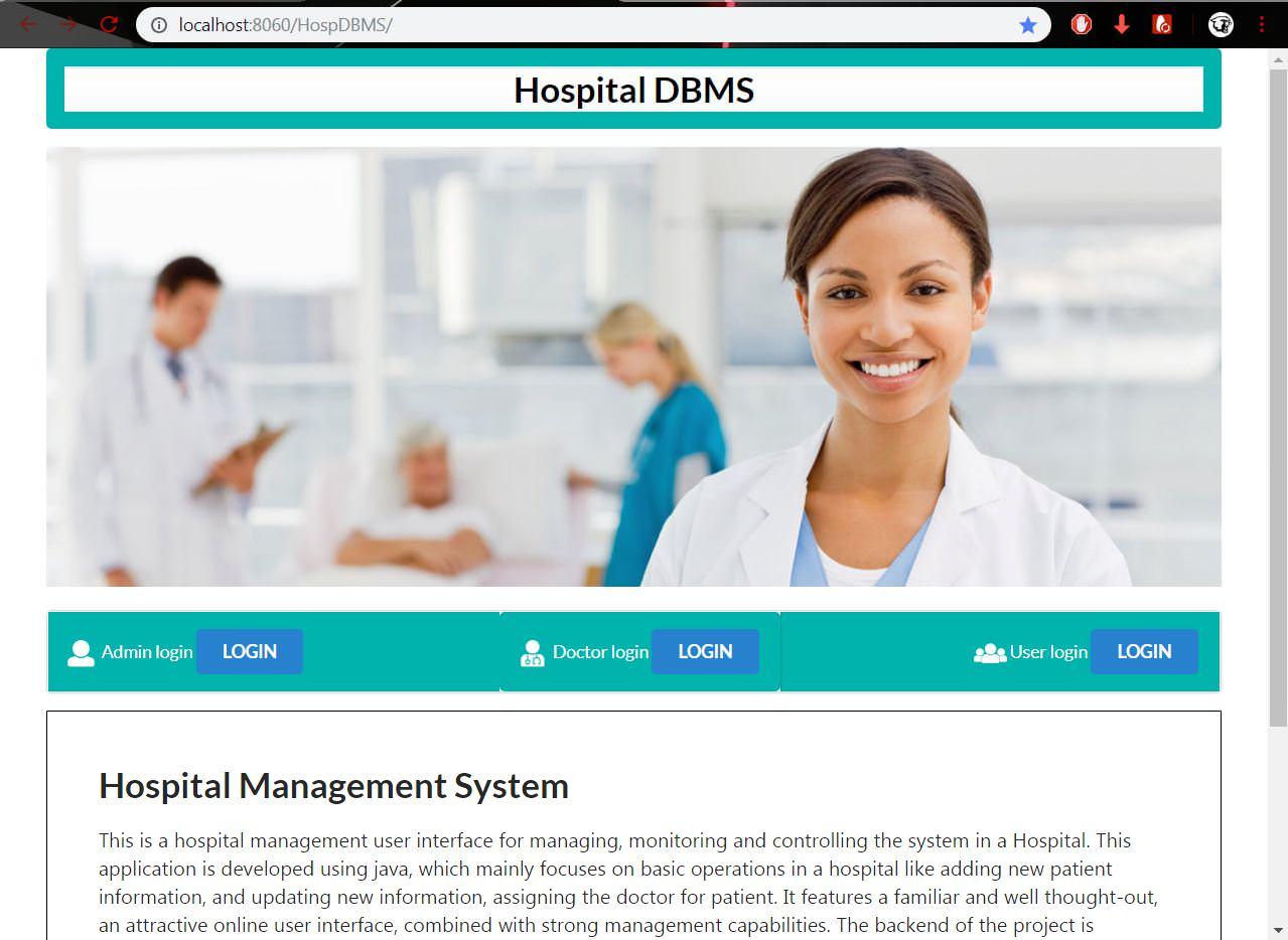 GitHub - Anush-DP/Hospital-Management-System: Hospital Management