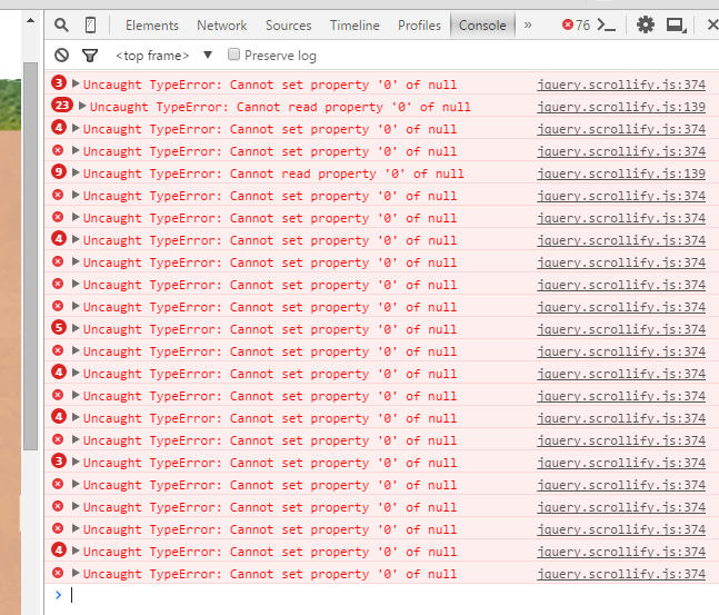 I can't reactivate scrollify after use $ scrollify destroy() · Issue