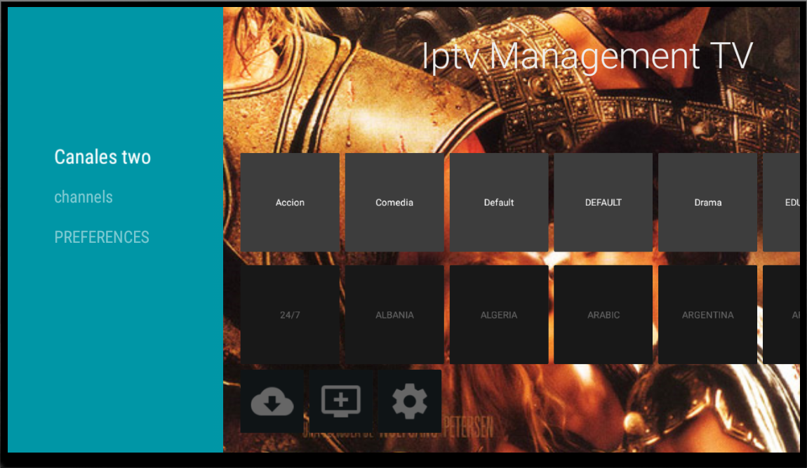 GitHub - antocara/iptvManagement: Android application for TV that