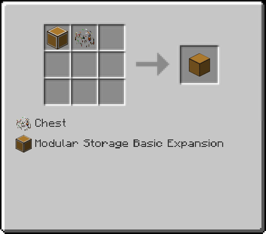 Capacity Expansion Recipe