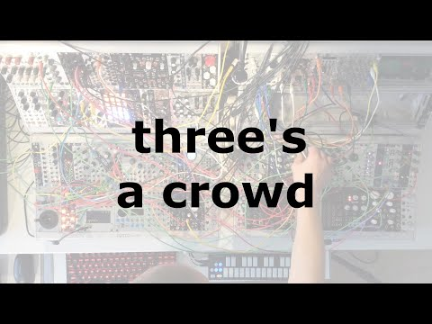 three's a crowd on youtube