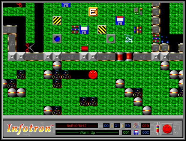 Infotron Game Play
