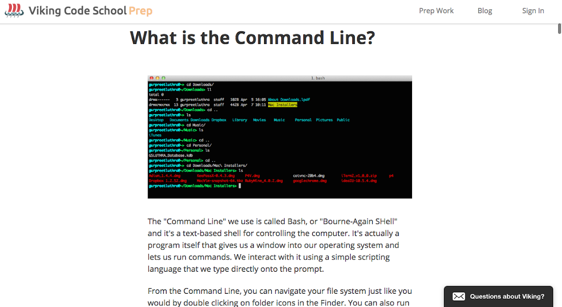 What is the Command Line?