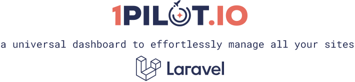 1Pilot.io - a universal dashboard to effortlessly manage all your sites
