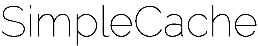SimpleCache Logo