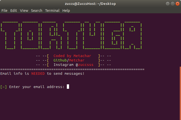 Tortuga - An SMS Spamming tool for Andriod, Linux and