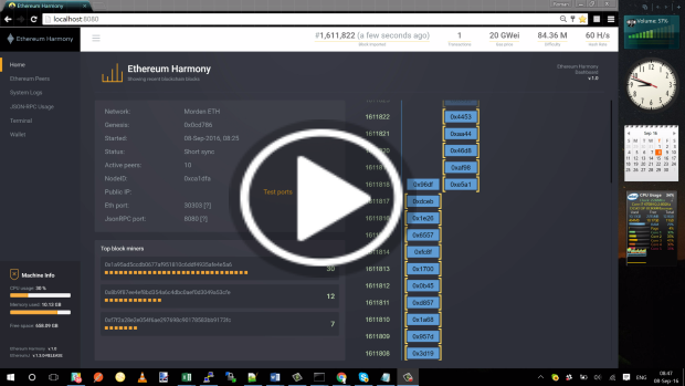 Ethereum Harmony Demo