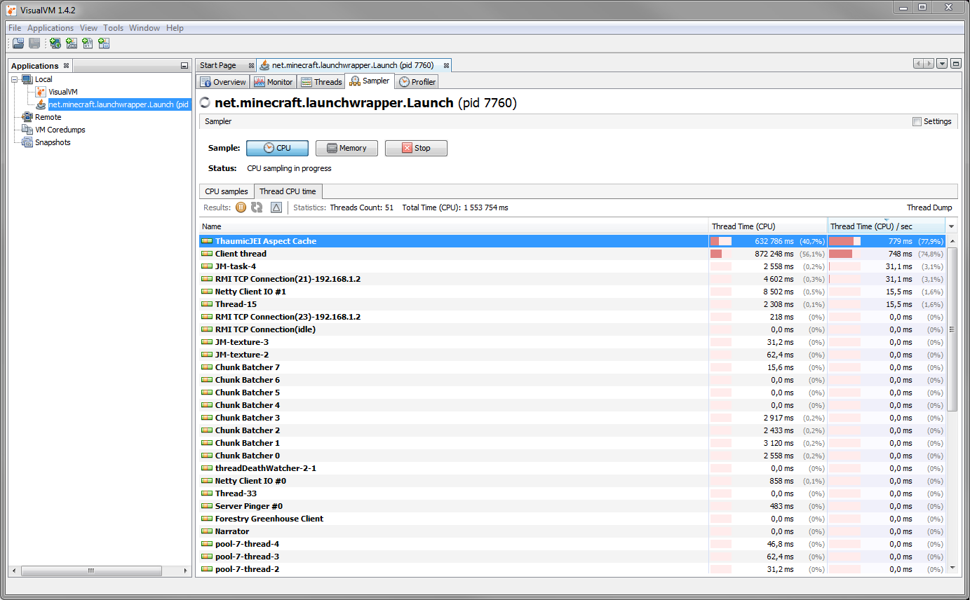 Generating aspect cache kills performance in large mod packs