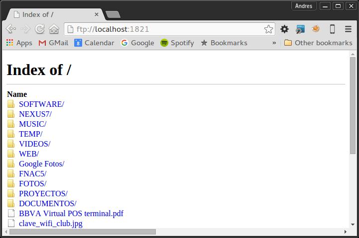 GitHub - andresoviedo/google-drive-ftp-adapter: Google Drive