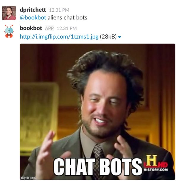 ancient aliens guy saying 'chat bots'