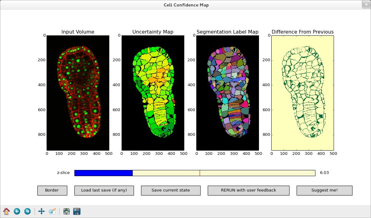 Main Interactive Segmentation Interface