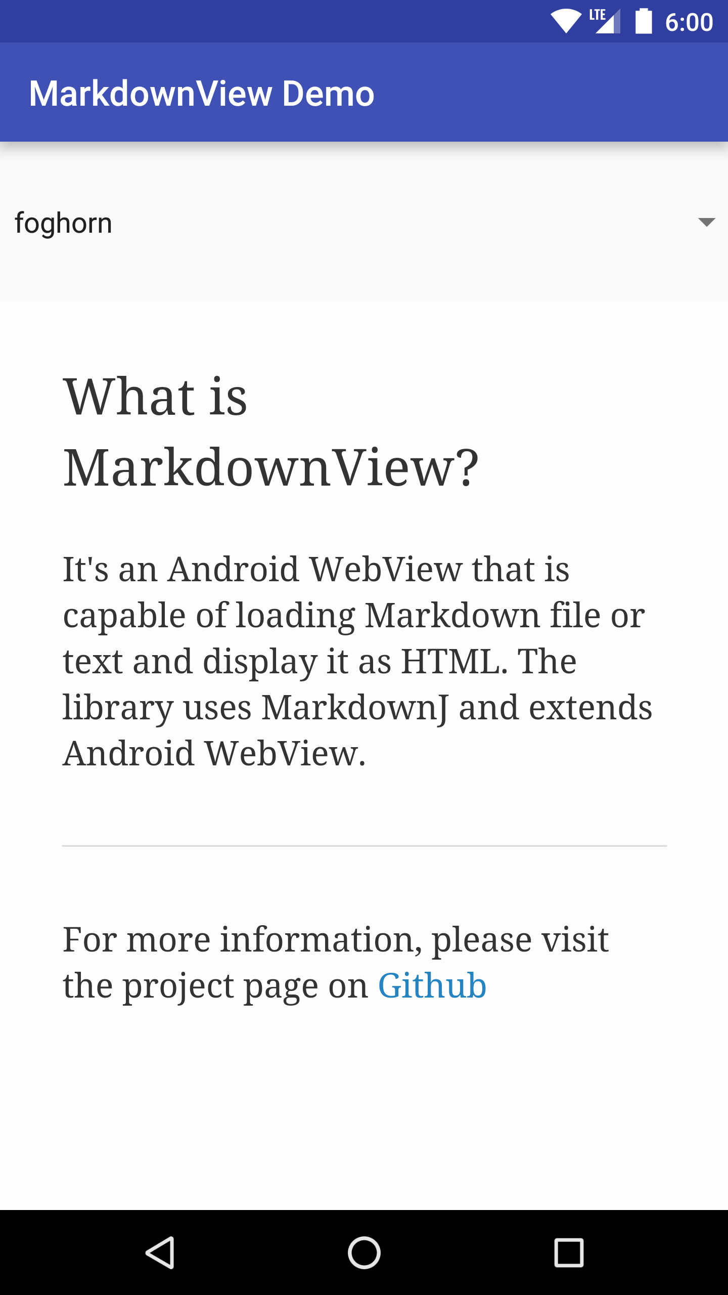 GitHub - falnatsheh/MarkdownView: MarkdownView is an Android
