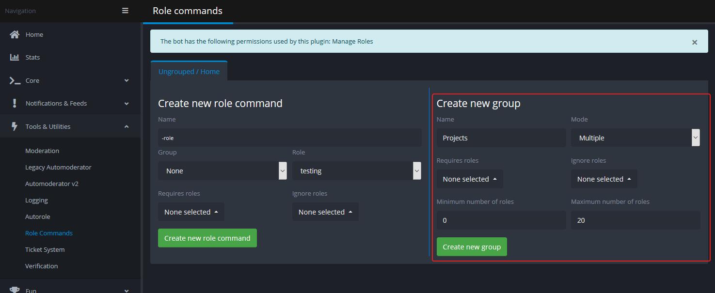 Discord Roles Tutorial · GitHub