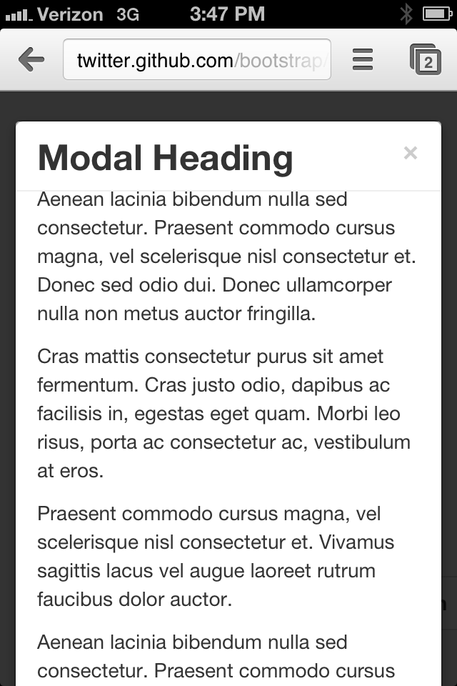 Responsive Modal window height · Issue #6356 · twbs/bootstrap · GitHub