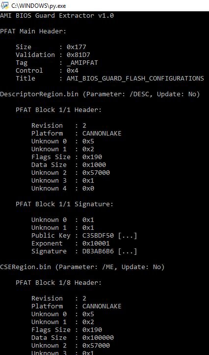 GitHub - platomav/BIOSUtilities: Various BIOS Utilities for