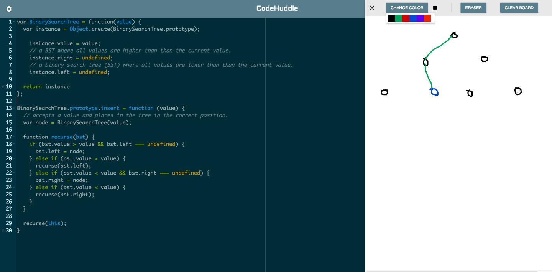 Code Huddle Screen Shot 1