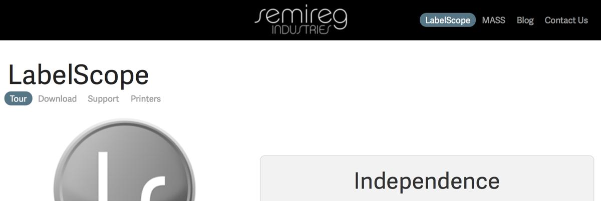 semireg industries - labelscope