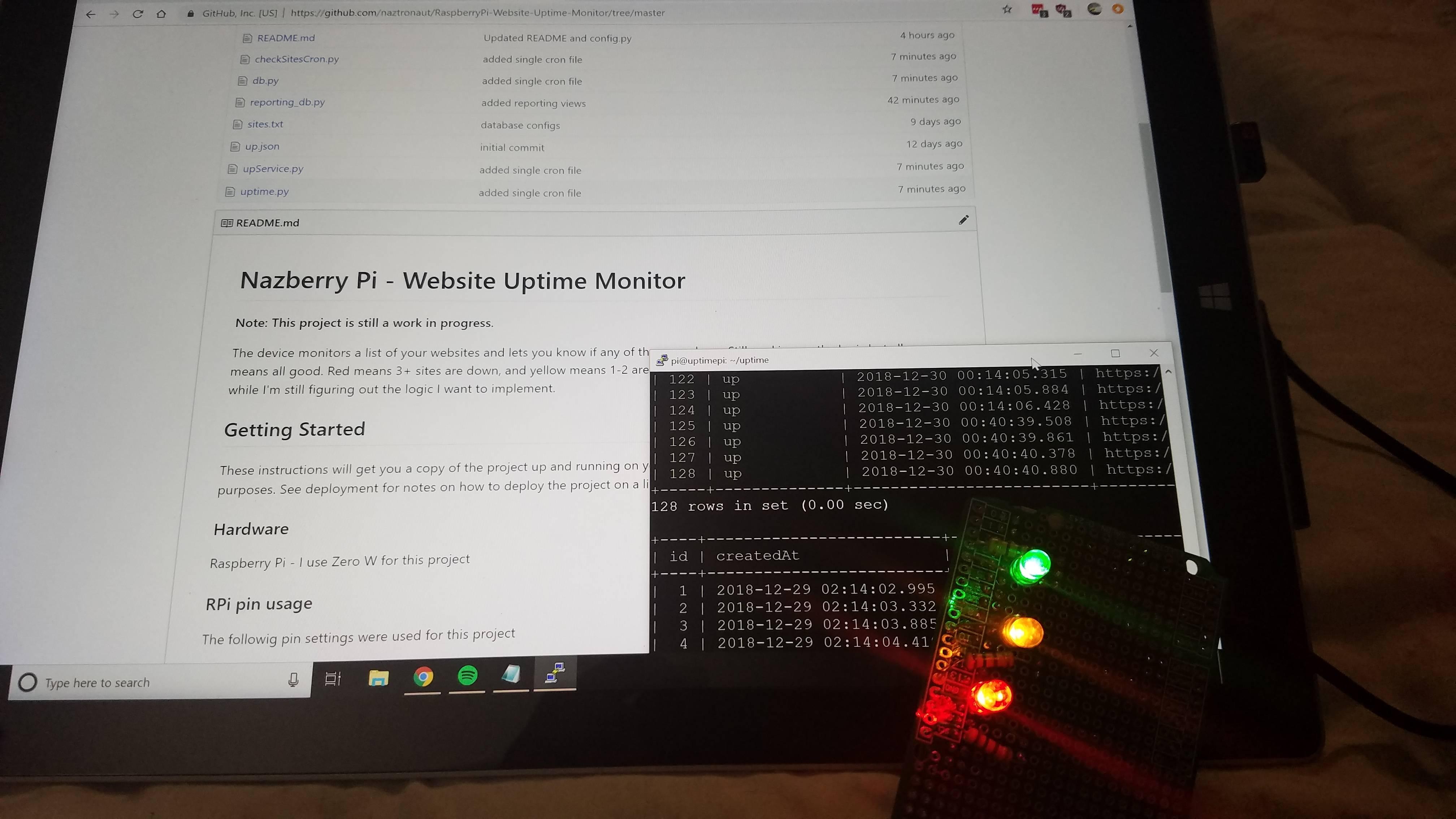 Website Uptime Monitor
