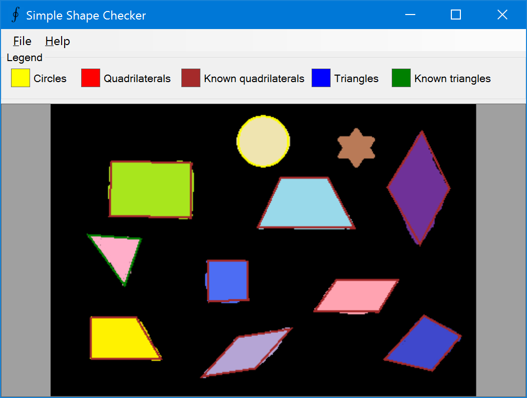 Shape detection