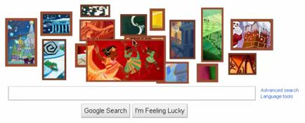 Original Google Doodle 2010