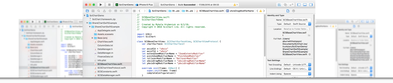 SciChart iOS Examples