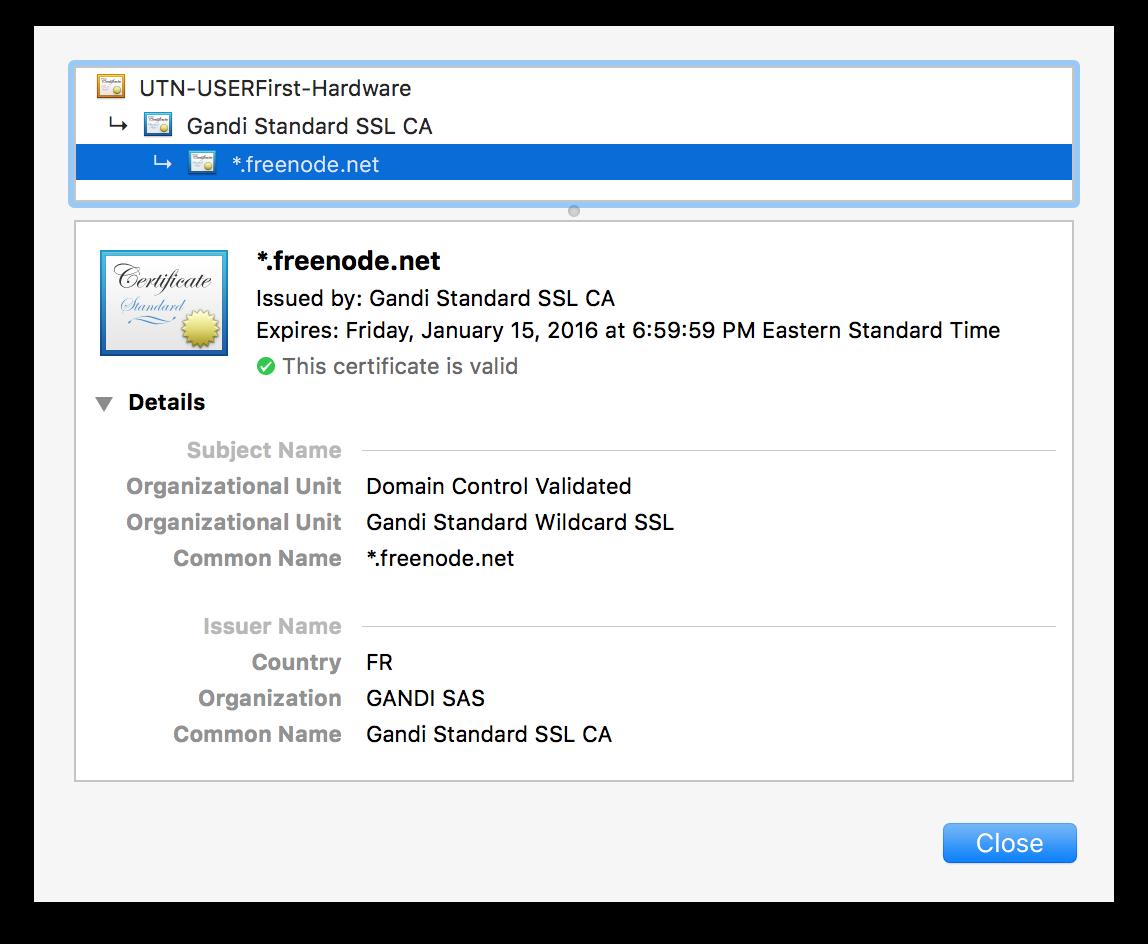 Github Codeux Softwareznc Certinfo A Module For Sending