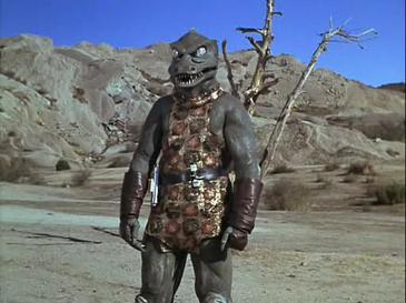 Gorn Creature from Star Trek