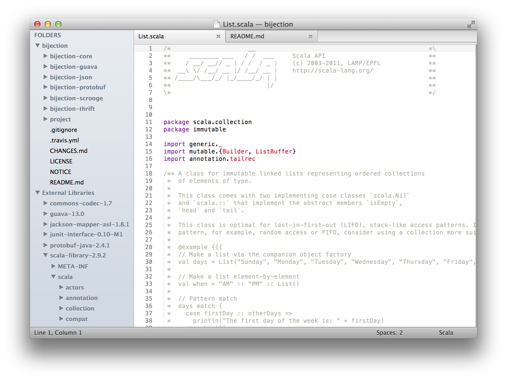 GitHub - orrsella/sbt-sublime: An sbt plugin for generating