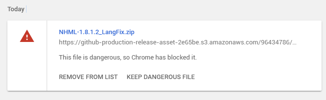 Chrome won't download it    · Issue #262 · nicehash
