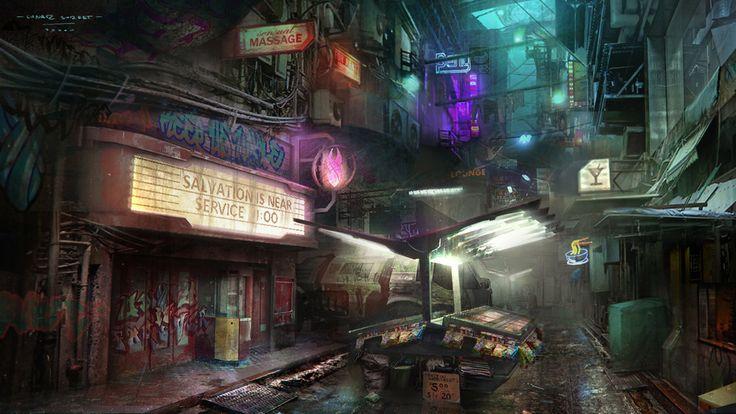Art Direction Redux · Bloomfield-SP16-CAT308A/Cyberpunk-RPG