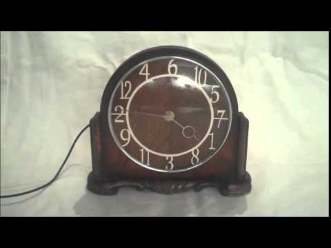 Clock in action