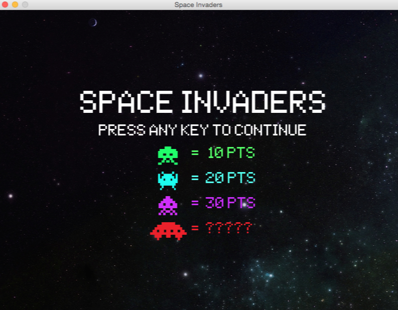GitHub - leerob/Space_Invaders: 👾Python clone with a modern