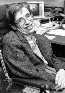 Stephen Hawking, on Wikipedia.