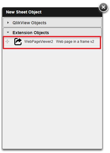 Adding the WebPageViewer2 Extension