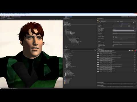 Exporting from Fuse to Face Plus in Unity