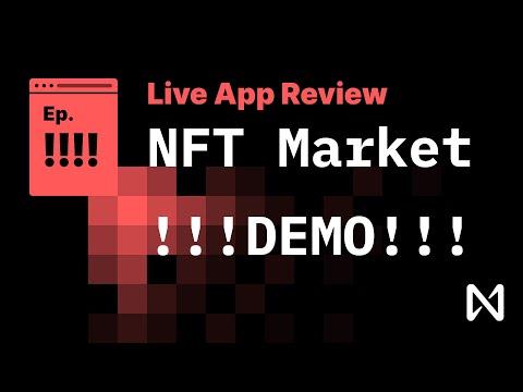 NEAR Protocol - Demo NFT Marketplace Walkthough